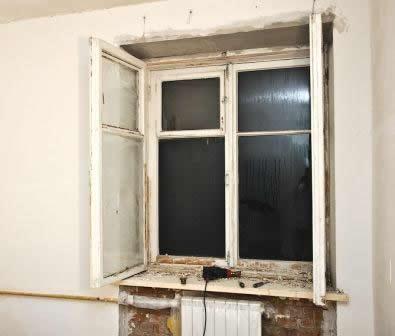 Внутренние откосы для деревянных окон